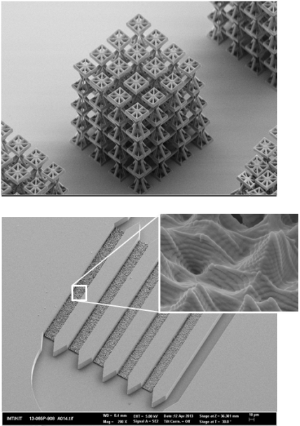 3D-DLW sample structures